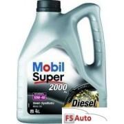 Ulei motor MOBIL Super 2000 X1 Diesel 10W40 4L