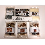 Rockhound's 1st Choice Rock Tumbler All-In-One Deluxe Refill Grit Kit