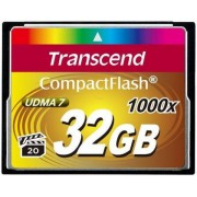 Card de memorie Transcend Compact Flash, 32GB, 1000x