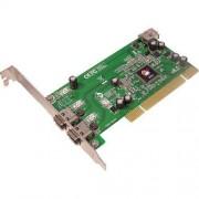 Siig 1394 3-Port PCI I/E - Adaptador de FireWire 3 puertos (nn-440012-s8) -