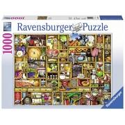 Ravensburger Puzzles Kitchen Cupboard, Multi Color (1000 Pieces)