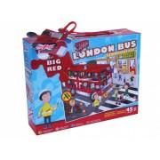 Puzzle de podea - Plimbare cu autobuzul (45 piese)