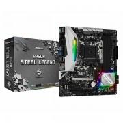 Asrock B450M Steel Legend, 4xDDR4, AM4 ASR-B450M-STEEL