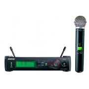 Microfon Profesional Wi-Fi Shure SLX24 BETA58A