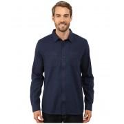 ToadCo Flannagan Solid Long Sleeve Shirt Night Sky