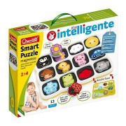 Smart Puzzle magnetico first colors and words - mágneses kirakós