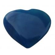 Inima calcedonie albastra
