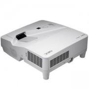 Проектор NEC UM351W + стойка за стена, Ултра късофокусен /ULTRA Short-throw/, 3500ANSI, WIDE XGA, 6000:1, NEC-PROJ-UM351W