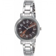 Titan Ladies Neo-I Analog Brown Dial Women's Watch - NK2554SM02