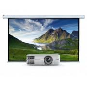 Videoproiector OPTOMA UHD300X, 4K Ultra HD + Ecran proiectie electric de perete Blackmount, marime vizibila 300 x169cm