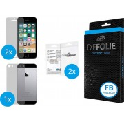 Crocfol Die Folie Fullbody Screenprotector (folie) Apple iPhone SE 1 set
