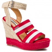 Espadrile PEPE JEANS - Ohra Tape PLS90380 Race Red 261