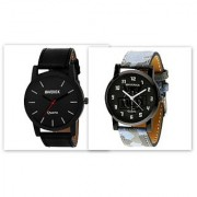 Gen-Z combo of 2 air force and black watches