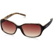 Fastrack Oval Sunglasses(Red)