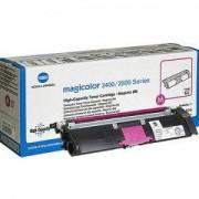 Тонер касета за Konica Minolta MagiColor 2400 W, червен (1710589-006)