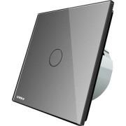 Intrerupator simplu Livolo, wireless, Argintiu