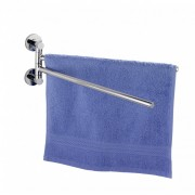 WENKO Power-Loc® Handtuchhalter mit 2 Armen Elegance, Befestigen ohne bohren