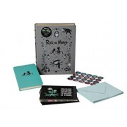 Rick and Morty Deluxe Note Card Set (with Keepsake Book Box), Hardcover/Insight Editions