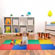 Homcom Alfombras puzzle para bebés 3 Años 8 piezas 02-0120 HomCom