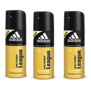 Adidas Deodorants 3 Victory League Of 150 ML Each (Set of 3) For Men