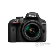 Aparat foto Nikon D3400 (AF-P 18-55 VR + AF-P 55-300 VR) 3 ani garantie body