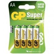 Gp Batteries Blister 4 Batterie AA Stilo GP Super