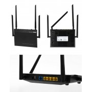 ROUTER, ASUS RT-AC1200GU, Wireless AC 1200, 3G/4G USB (90IG02P1-BO3100)