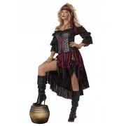 Disfarce luxuoso de pirata - mulher - Taille: M (40/42)