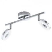 Plafoniera Eglo Gonaro crom-alb, 2 x 3.8W -94757