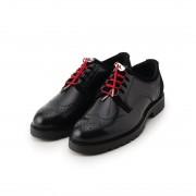【SALE 40%OFF】タケオ キクチ TAKEO KIKUCHI ギリーシューズ [ メンズ シューズ 革靴 アドバン加工 ] (ブラック) メンズ