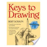 Keys to Drawing (Dodson Bert)(Paperback) (9780891343370)