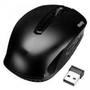 Безжична оптична мишка AM-7400 USB, черна, кутия, 1200dpi