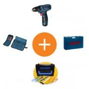 Set alata na promociji GSR 120-LI (2x 1.5Ah) + pokloni u koferu Bosch