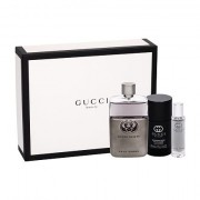 Gucci Guilty Pour Homme confezione regalo eau de toilette 90 ml + deostick 75 ml + eau de toilette 15 ml uomo