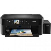 Мултифункционално мастиленоструйно устройство Epson L850, цветен принтер/скенер/копир, 5760x1440dpi, 5 стр/мин, USB, A4