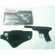 jain cobra metal air gun free 200 pellets 1 cover