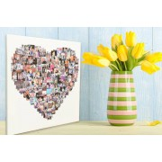 Personalised Photo Collage for up to 150 Images - 3 Shapes & 4 Sizes!