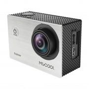 MGCOOL Explorer 12MP 4K 170 degrés Grand Angle WiFi Caméra caméra Action Action avec boîtier boîtier étanche de 30m, écran 2.0 pouces Technologie Allwinner Technologie V3 Capteur Sony IMX 179, prise en charge de la carte micro SD 64 Go (argent)