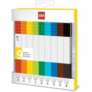 Lego - Bricks Markers 9-Pack