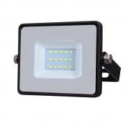 V-TAC LED venkovní reflektor 10W/230V/6400K/800Lm/100°/IP65, černý