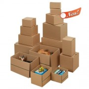 Wiederverschließbare zweiwellige Kartons 584x389x-365 mm