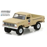 1968 Ford F-100 Pickup Truck Standard Oil Running on Empty Series 3 1/64 Diecast Model Car by Greenlight 41030 B