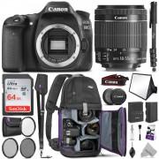Canon Digital SLR Camera Body [EOS 80D] with 24.2 Megapixel (APS-C)