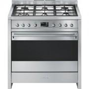 Smeg A1-9 cucina Piano cottura Acciaio inossidabile Gas A+