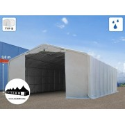 8x12x3m Wikinger raktársátor/ 550g/m2 PVC ponyva (Wikinger)