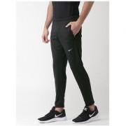 Nike Men's Black Polyester Track pants