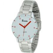 Zesta 16 Analog Watch Fashionable Designer Casual Metal Watches For Women Girls (White Silver)