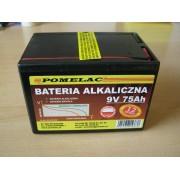 Bateria alkaliczna 75Ah/9V