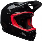 Bell Transfer-9 Downhill Casco Negro Rojo XL