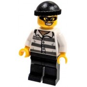 CITY LEGO LOOSE Minifigure Masked Thief